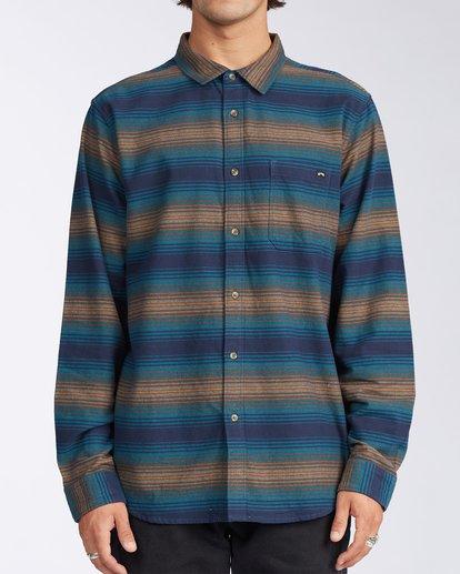 0 Coastline - Camisa de pana para Hombre Azul V1SH04BIW0 Billabong