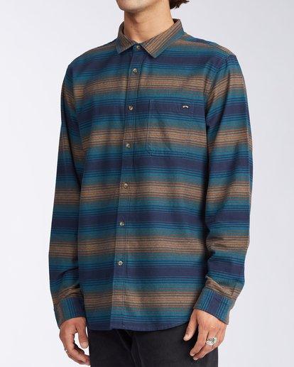 2 Coastline - Camisa de pana para Hombre Azul V1SH04BIW0 Billabong