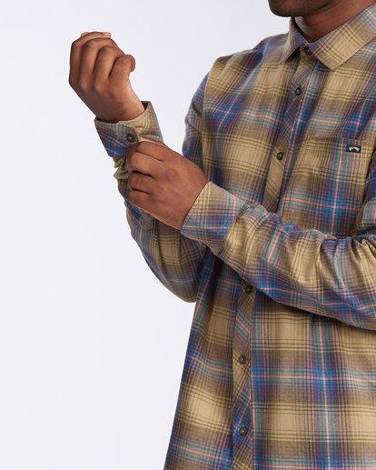 5 Coastline - Flanellhemd für Männer Grau V1SH04BIW0 Billabong