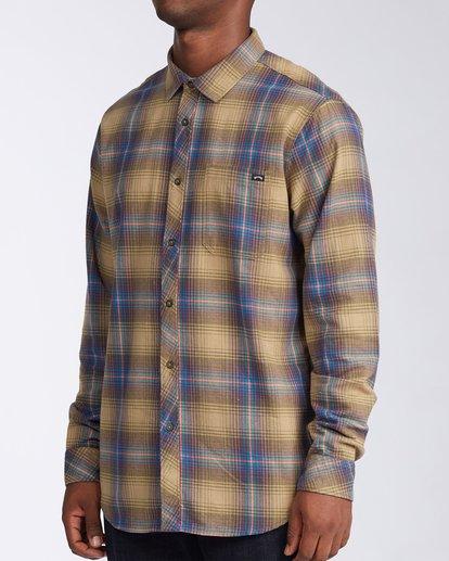 2 Coastline - Flanellhemd für Männer Grau V1SH04BIW0 Billabong