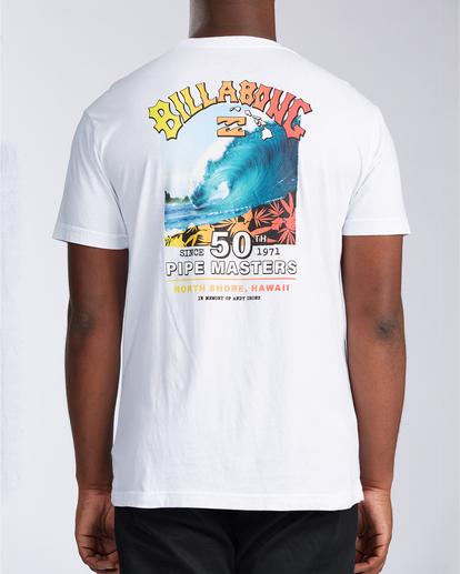 2 Pipe Master - T-Shirt for Men White V1SS38BIW0 Billabong