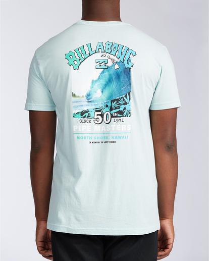 2 Pipe Master - T-shirt pour Homme Bleu V1SS38BIW0 Billabong
