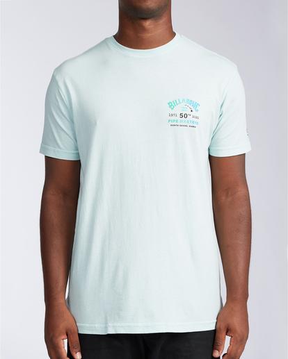 0 Pipe Master - T-shirt pour Homme Bleu V1SS38BIW0 Billabong