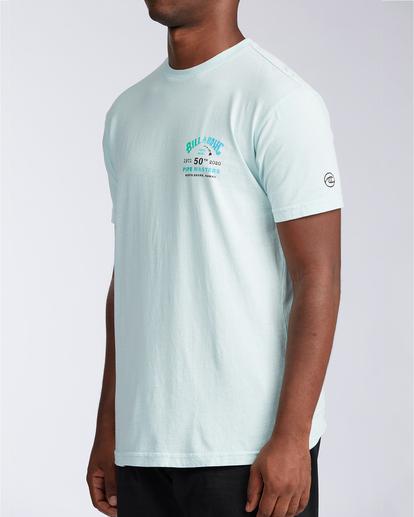 1 Pipe Master - T-shirt pour Homme Bleu V1SS38BIW0 Billabong