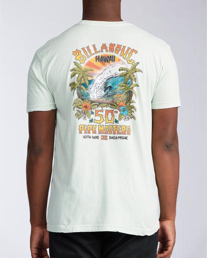 2 Pipe Tube Art - T-shirt pour Homme Vert V1SS40BIW0 Billabong