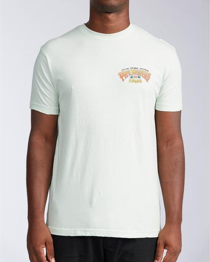 0 Pipe Tube Art - T-shirt pour Homme Vert V1SS40BIW0 Billabong
