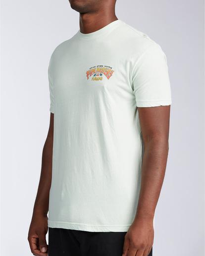 1 Pipe Tube Art - T-shirt pour Homme Vert V1SS40BIW0 Billabong