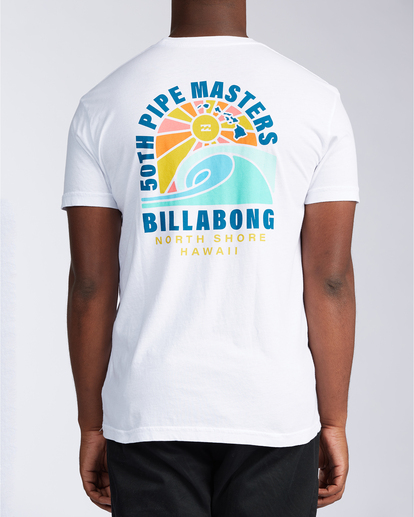 2 Wave - T-shirt pour Homme Blanc V1SS41BIW0 Billabong