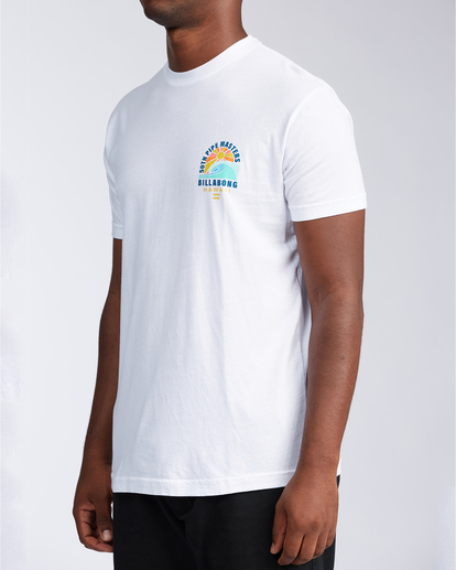 1 Wave - T-shirt pour Homme Blanc V1SS41BIW0 Billabong