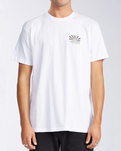 0 AI Forever Sunrise - T-Shirt for Men White V1SS42BIW0 Billabong