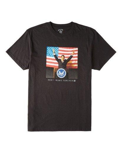3 AI For President - Camiseta para Hombre Negro V1SS44BIW0 Billabong