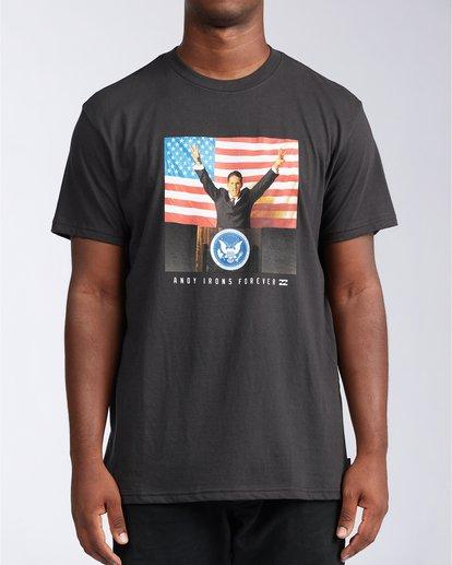 0 AI For President - Camiseta para Hombre Negro V1SS44BIW0 Billabong