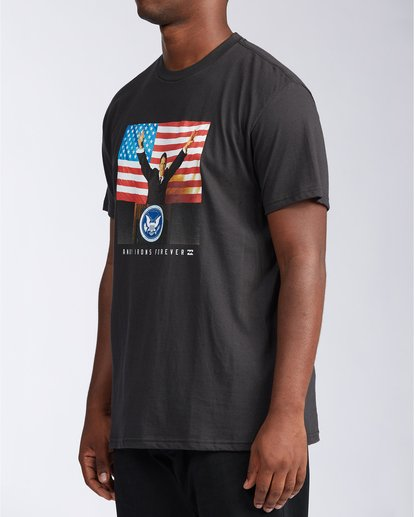 2 AI For President - Camiseta para Hombre Negro V1SS44BIW0 Billabong