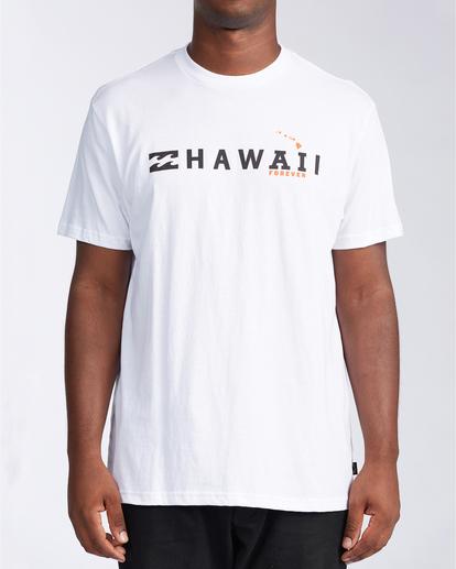 0 AI Forever Hawaii - T-Shirt for Men White V1SS46BIW0 Billabong