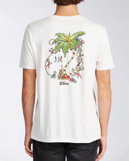 2 Palm Grinch - T-shirt pour Homme Blanc V1SS49BIW0 Billabong