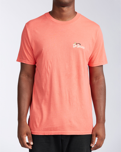 0 Mahalo Grinch - T-Shirt for Men Red V1SS51BIW0 Billabong