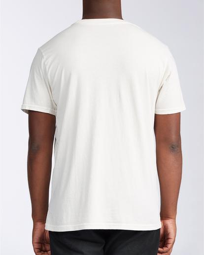 2 Xray - Taschen-T-Shirt für Männer Weiss V1SS52BIW0 Billabong