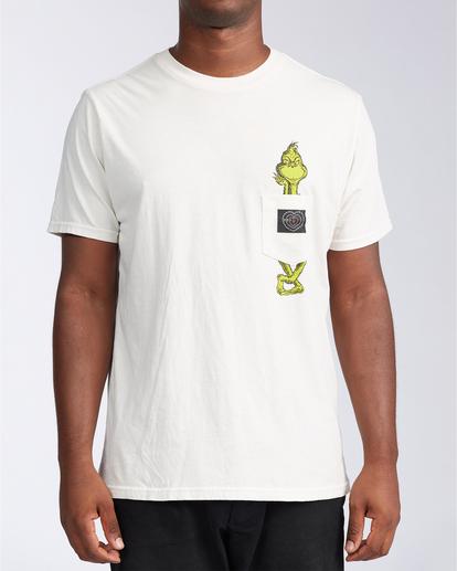0 Xray - Taschen-T-Shirt für Männer Weiss V1SS52BIW0 Billabong