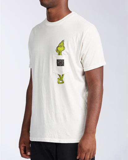 1 Xray - Taschen-T-Shirt für Männer Weiss V1SS52BIW0 Billabong