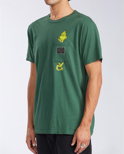 1 Xray - T-shirt avec poche pour Homme Vert V1SS52BIW0 Billabong