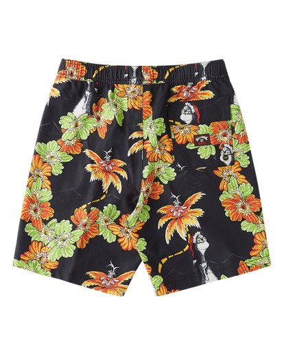1 Grinch Aloha Layback - Board Shorts for Boys Schwarz V2LB02BIW0 Billabong