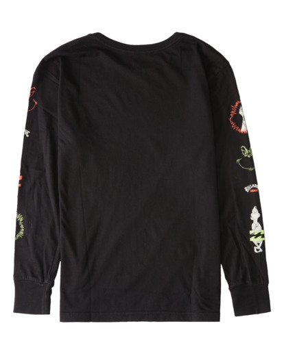 1 Grinchmas Vacation - T-shirt manches longues pour Garçon Noir V2LS02BIW0 Billabong
