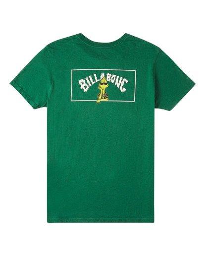 1 Mahalo Grinch - T-Shirt for Boys Green V2SS02BIW0 Billabong