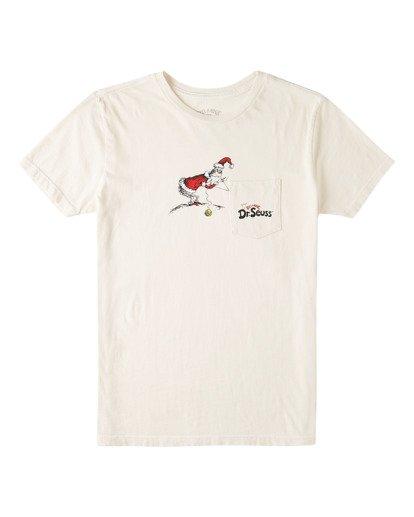 0 Grinch Stitch - Taschen-T-Shirt für Jungen Weiss V2SS04BIW0 Billabong