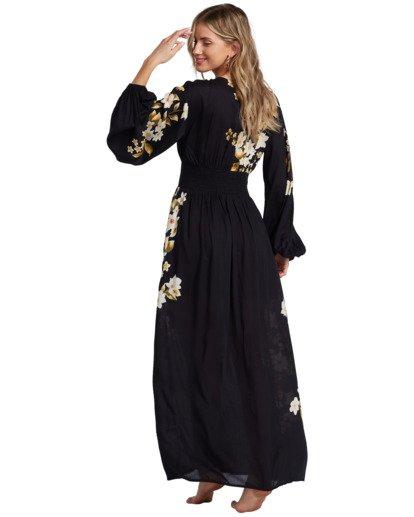 6 Night Bloom - Vestido largo para Mujer Negro V3DR02BIMU Billabong