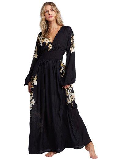 5 Night Bloom - Vestido largo para Mujer Negro V3DR02BIMU Billabong