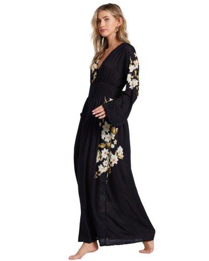 7 Night Bloom - Vestido largo para Mujer Negro V3DR02BIMU Billabong