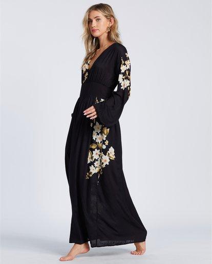 4 Night Bloom - Vestido largo para Mujer Negro V3DR02BIMU Billabong