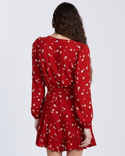 2 Lovin You - Vestido envolvente para Mujer  V3DR08BIW0 Billabong
