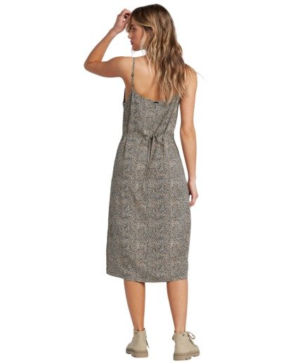 5 Sandy Beach - Vestido de medio largo para Mujer  V3DR09BIW0 Billabong