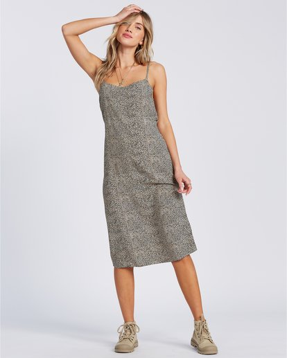 1 Sandy Beach - Vestido de medio largo para Mujer  V3DR09BIW0 Billabong
