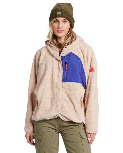 4 Tofino Snap Front - Chaqueta polar para Mujer  V3FL04BIMU Billabong