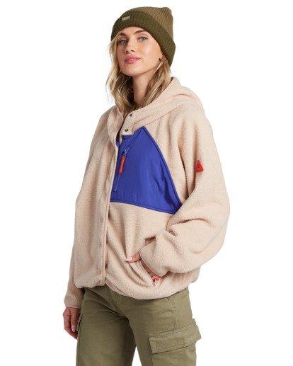 6 Tofino Snap Front - Chaqueta polar para Mujer  V3FL04BIMU Billabong