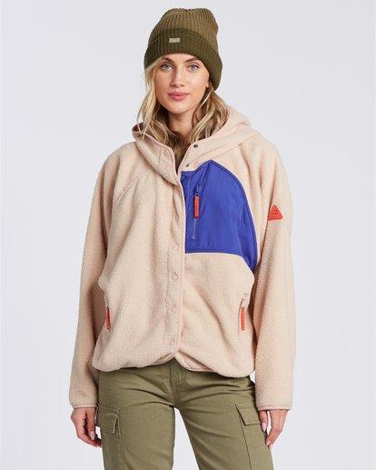 1 Tofino Snap Front - Chaqueta polar para Mujer  V3FL04BIMU Billabong