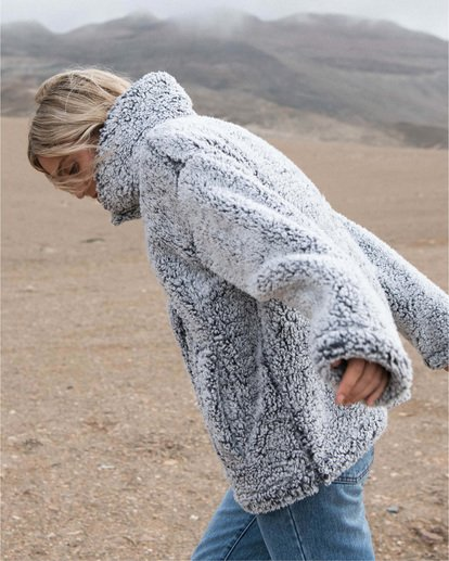 1 Cozy Days - Chaqueta polar para Mujer Gris V3WA01BIW0 Billabong