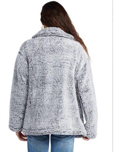 7 Cozy Days - Polarfleece-Jacke für Frauen Grau V3WA01BIW0 Billabong