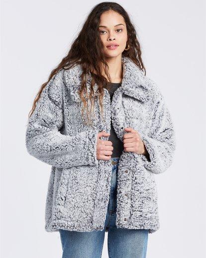 3 Cozy Days - Polarfleece-Jacke für Frauen Grau V3WA01BIW0 Billabong