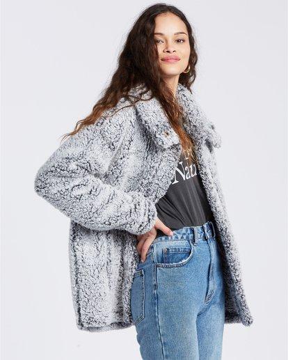 5 Cozy Days - Chaqueta polar para Mujer Gris V3WA01BIW0 Billabong
