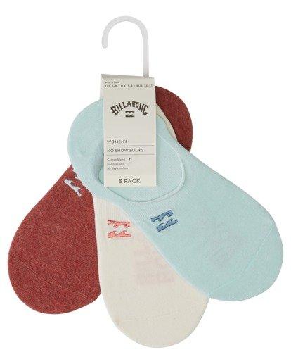 2 Core - Calcetines para Mujer Rojo V9SO02BIW0 Billabong