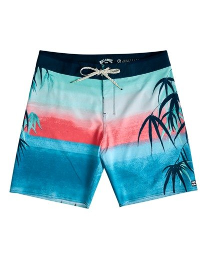 """0 Sundays Airlite 19"""" - Recycled Board Shorts for Men Blue W1BS16BIP1 Billabong"""