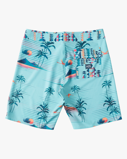 """1 Sundays Airlite 19"""" - Recycled Board Shorts for Men Green W1BS16BIP1 Billabong"""