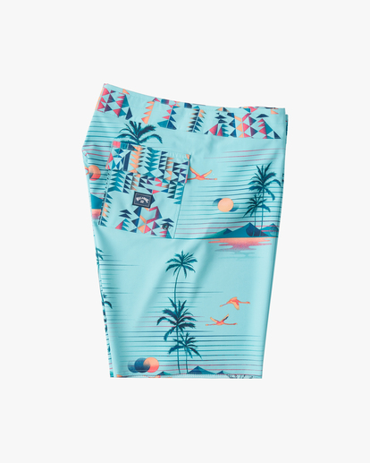 """3 Sundays Airlite 19"""" - Recycled Board Shorts for Men Green W1BS16BIP1 Billabong"""