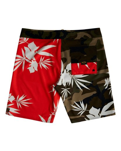 """1 Sundays Airlite 19"""" - Recycled Board Shorts for Men Red W1BS16BIP1 Billabong"""