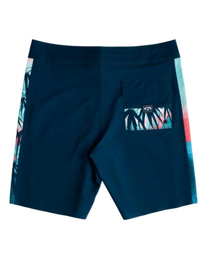 "1 D Bah Pro 19"" - Recycled Board Shorts for Men Blue W1BS39BIP1 Billabong"