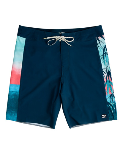 "0 D Bah Pro 19"" - Recycled Board Shorts for Men Blue W1BS39BIP1 Billabong"