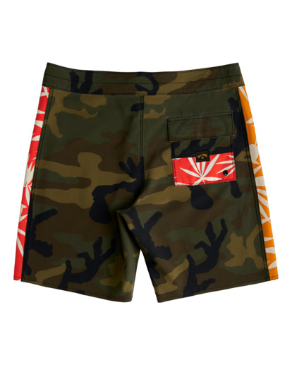 "1 D Bah Pro 19"" - Recycled Board Shorts for Men Camo W1BS39BIP1 Billabong"